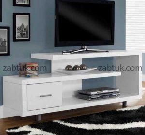 میز تلویزیون سفید مدرن