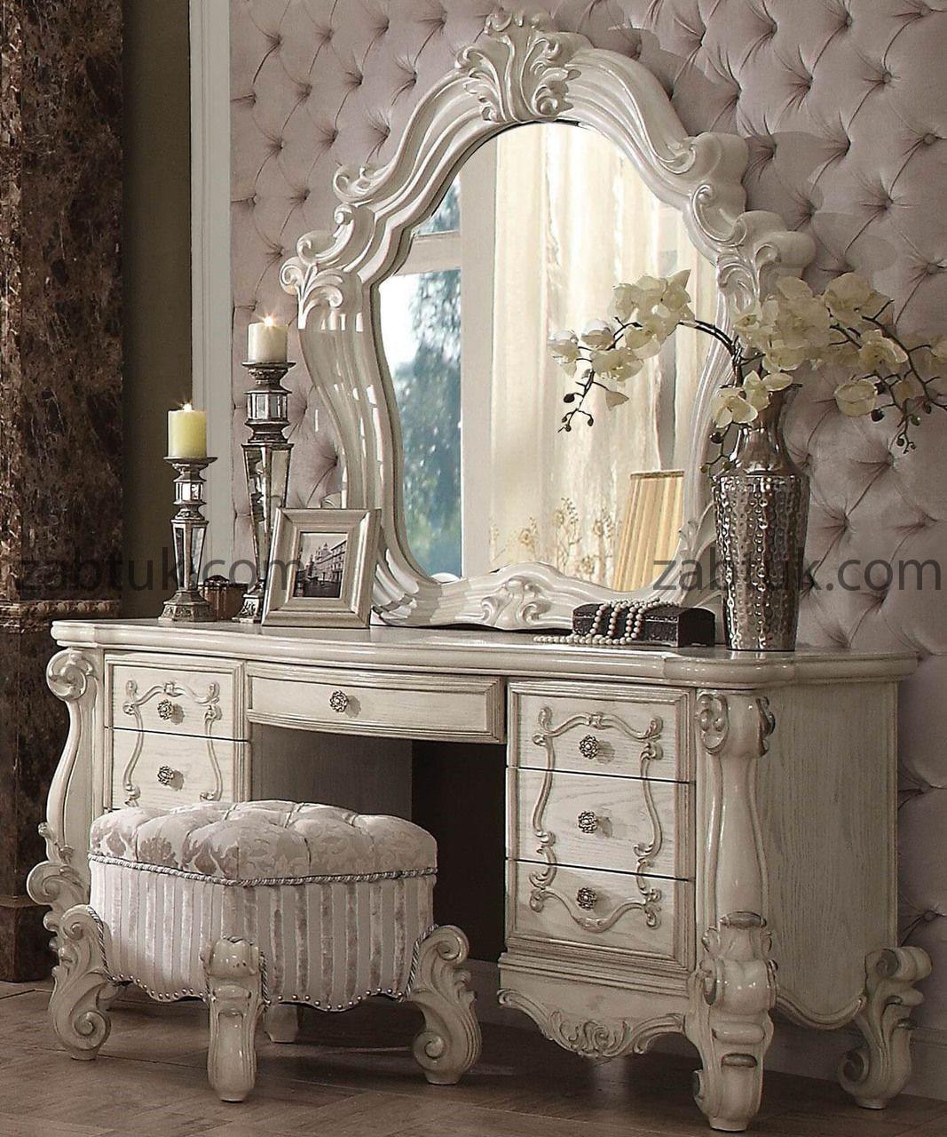 مدل میز آرایشی متناسب با سبک کلاسیک
