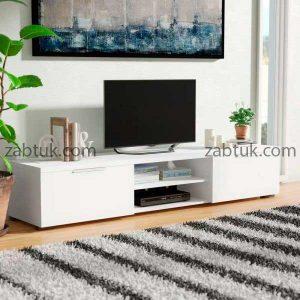 مدل میز تلویزیون سفید رنگ
