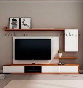میز تلویزیون دو رنگ