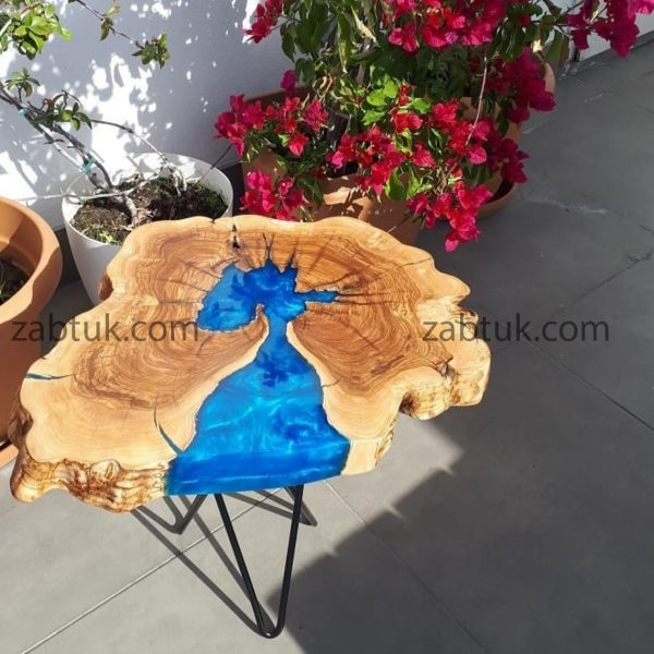 میز عسلی روستیک